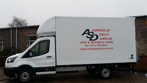 Arnold Self Drive Van Hire